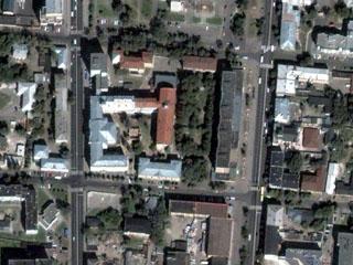 Так выглядит кафедра из космоса (представлено космонавтами)