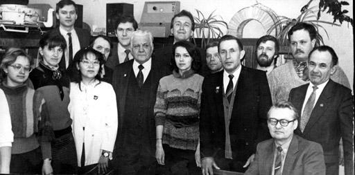 Ломов на кафедре 1989 год